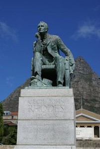 Statue of Rhodes, University of Cape Town